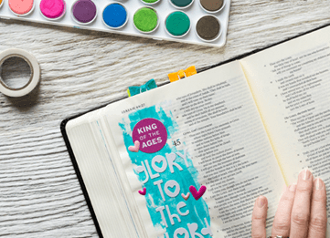 Article - Bible Journaling Ideas for Not-So-Creative People
