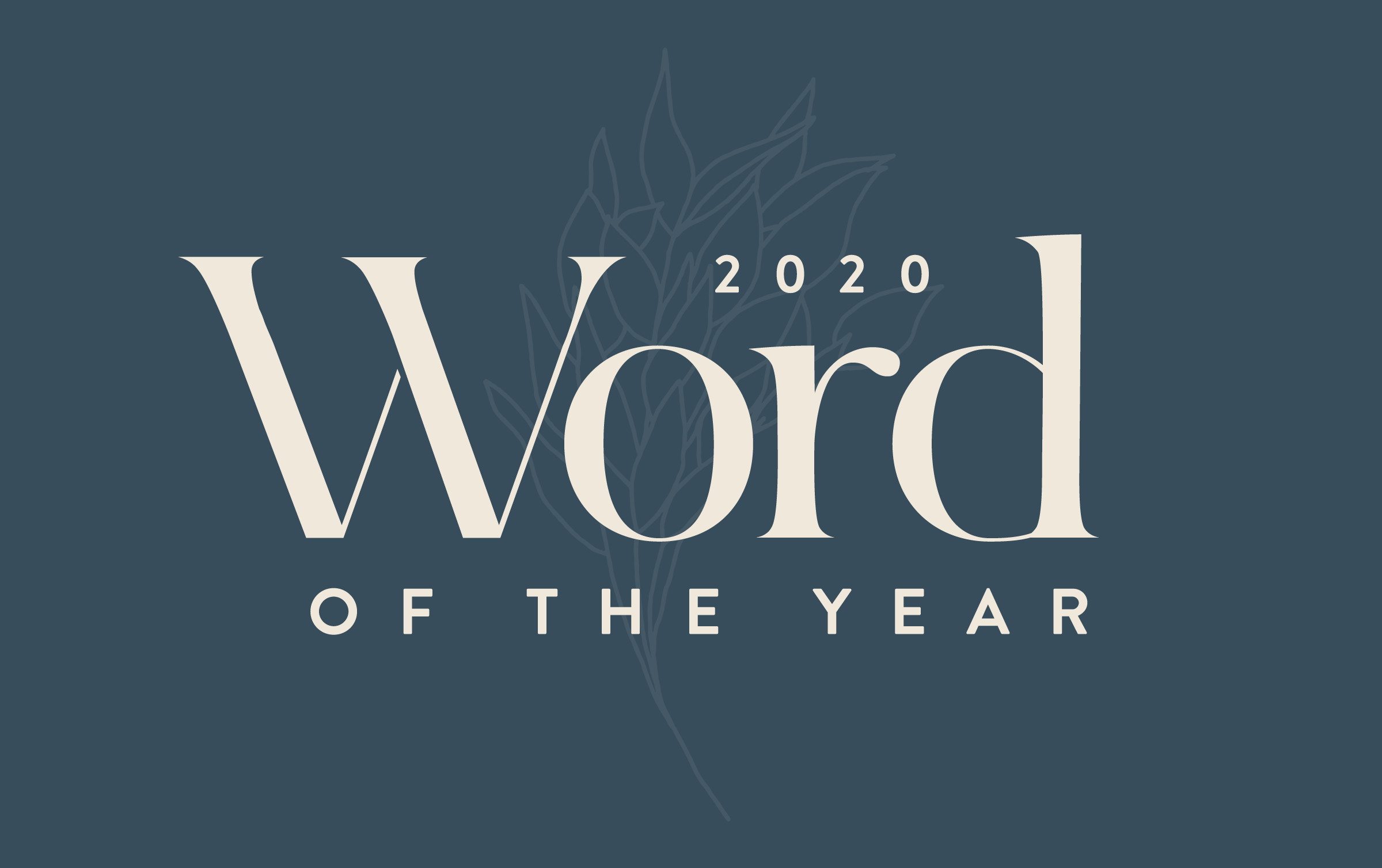 Image result for one word for 2020